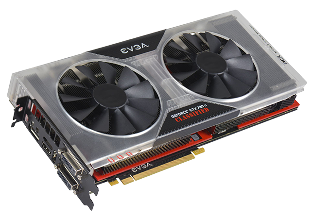 EVGA GeForce GTX 780 Ti Classified K|NGP|N Edition