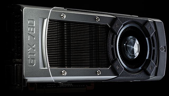The GeForce GTX 780 has the same high-quality styling as the GeForce GTX Titan.