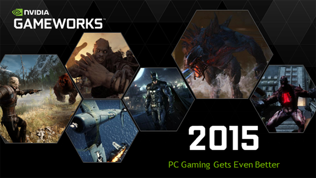 NVIDIA GeForce GTX 960 - GameWorks Enhancements Galore In 2015