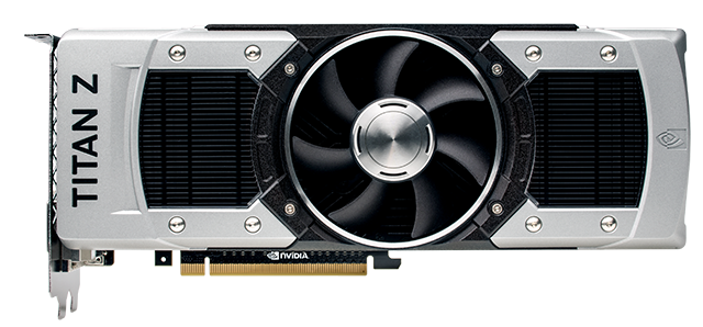 GeForce GTX TITAN Z - 完整視圖