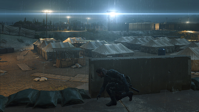 Metal Gear Solid V: Ground Zeroes - Lighting Quality Interactive Comparison #2