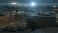 Metal Gear Solid V: Ground Zeroes - Lighting Quality Example #2 - Low