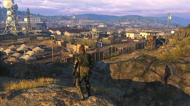 「潛龍諜影 5: 原爆點 (Metal Gear Solid V:  Ground Zeroes)」- 模型細節互動比較圖 #1