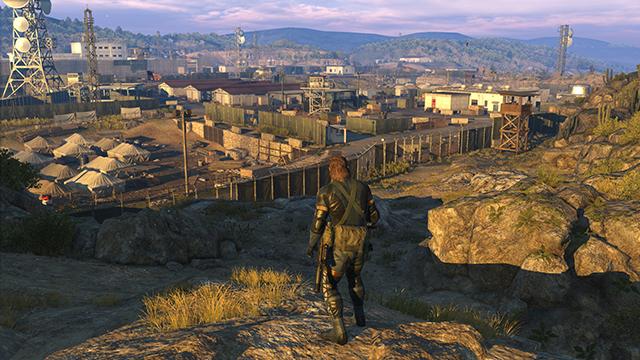「潛龍諜影 5: 原爆點 (Metal Gear Solid V:  Ground Zeroes)」- NVIDIA 動態超解析度 (DSR) 遊戲畫面截圖 - 3840x2160