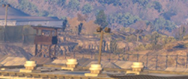 「潛龍諜影 5: 原爆點 (Metal Gear Solid V:  Ground Zeroes)」- NVIDIA 動態超解析度 - 取樣點效益比較圖 #5