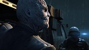 Metal Gear Solid V: Ground Zeroes - Screen Filtering: Cut Scene Depth of Field #1 - Off