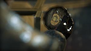 Metal Gear Solid V: Ground Zeroes - Screen Filtering: Cut Scene Depth of Field #2 - On