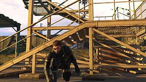 Metal Gear Solid V: Ground Zeroes - Screen Filtering: Post-Process Anti-Aliasing #1 - Off