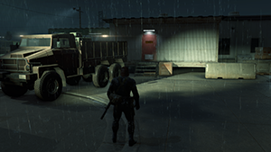 Metal Gear Solid V: Ground Zeroes - Screen Filtering: Screen Space Reflections #2 - Off