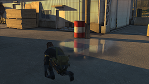 Metal Gear Solid V: Ground Zeroes - Screen Filtering: Screen Space Reflections #3 - On