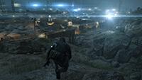 「潛龍諜影 5: 原爆點 (Metal Gear Solid V:  Ground Zeroes)」- 畫面空間環境光遮蔽範例 #1 - 高