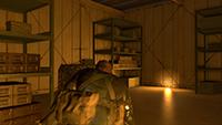 「潛龍諜影 5: 原爆點 (Metal Gear Solid V:  Ground Zeroes)」- 畫面空間環境光遮蔽範例 #2 - 高