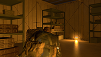 Metal Gear Solid V: Ground Zeroes - Screen Space Ambient Occlusion Example #2 - Off