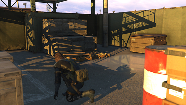 Metal Gear Solid V: Ground Zeroes - Shadow Quality Comparison #3