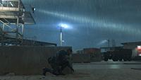 「潛龍諜影 5: 原爆點 (Metal Gear Solid V:  Ground Zeroes)」- 特效範例 #1 - 高
