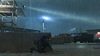 「潛龍諜影 5: 原爆點 (Metal Gear Solid V:  Ground Zeroes)」- 特效範例 #1 - 低