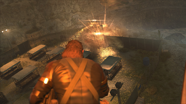 Metal Gear Solid V: Ground Zeroes Special Effects Screenshot