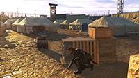 「潛龍諜影 5: 原爆點 (Metal Gear Solid V:  Ground Zeroes)」- 材質過濾範例 #1 - 中