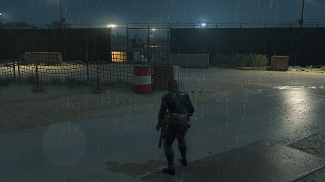 Metal Gear Solid V: Ground Zeroes - Texture Filtering Interactive Comparison #2