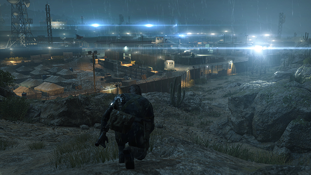 Metal Gear Solid V: Ground Zeroes - Texture Quality Comparison #1