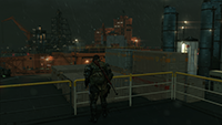 Metal Gear Solid V: The Phantom Pain - Lighting Quality Example #1 - Low