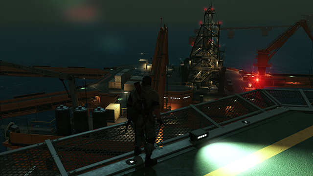 Metal Gear Solid V: The Phantom Pain - Lighting Quality Interactive Comparison #2