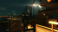 Metal Gear Solid V: The Phantom Pain - Lighting Quality Example #3 - Low