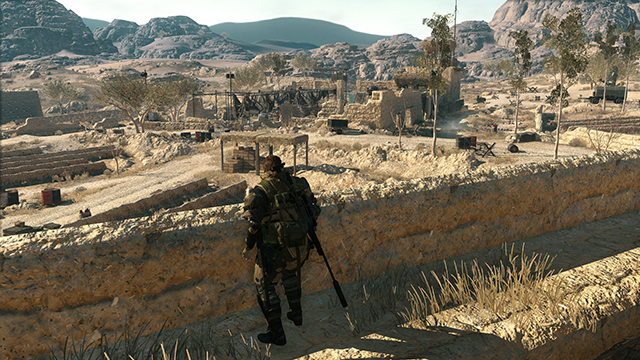 Metal Gear Solid V: The Phantom Pain - NVIDIA Dynamic Super Resolution Comparison
