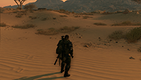 Metal Gear Solid V: The Phantom Pain - Texture Filtering Example #1 - Medium