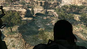 Metal Gear Solid V: The Phantom Pain - Bodies of water lack Screen Space Reflections