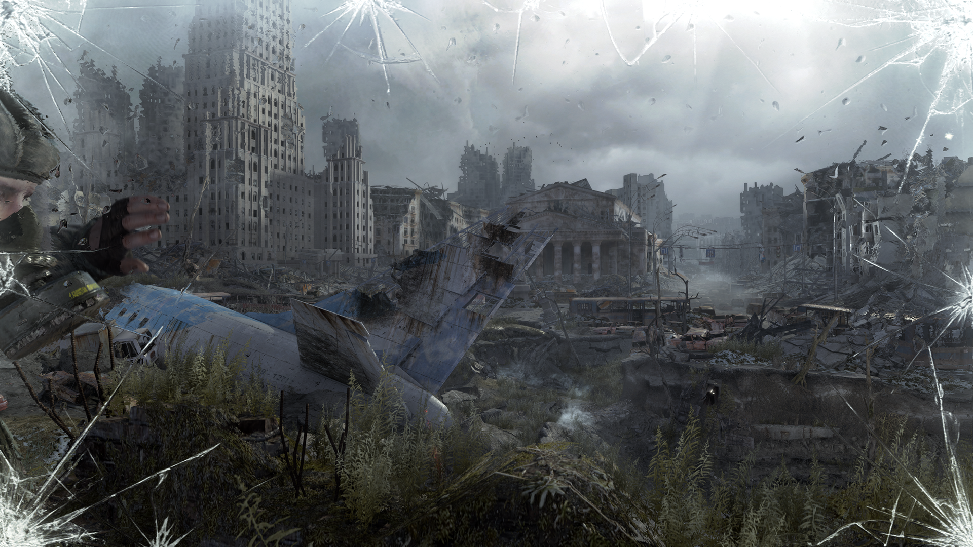 Metal Gear Solid Wallpaper 1080p Metro: Last Light Grap...
