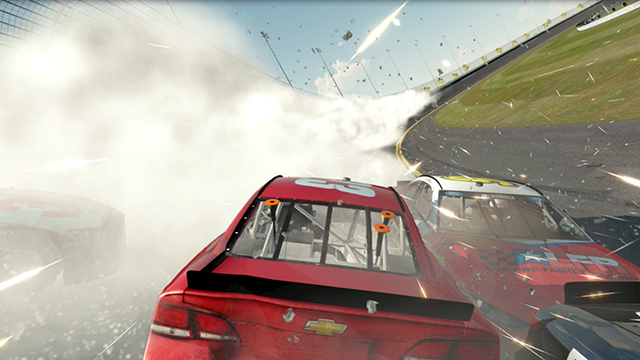NASCAR 2014 - CUDA Particles Screenshot #1
