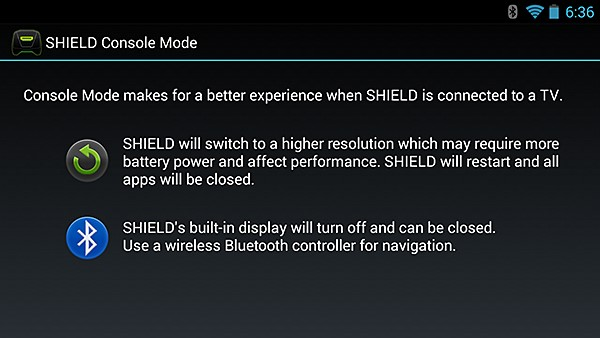 NVIDIA SHIELD Console Mode #5