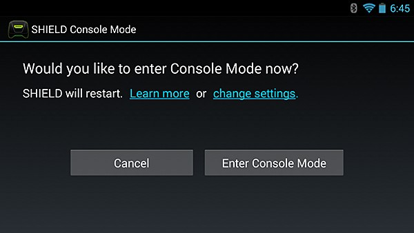 NVIDIA SHIELD Console Mode #6