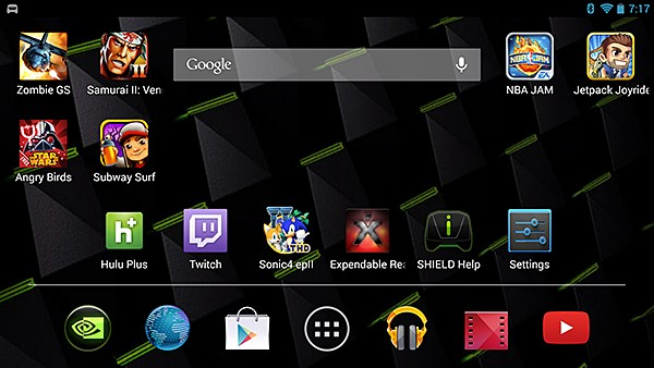 NVIDIA SHIELD Console Mode #7