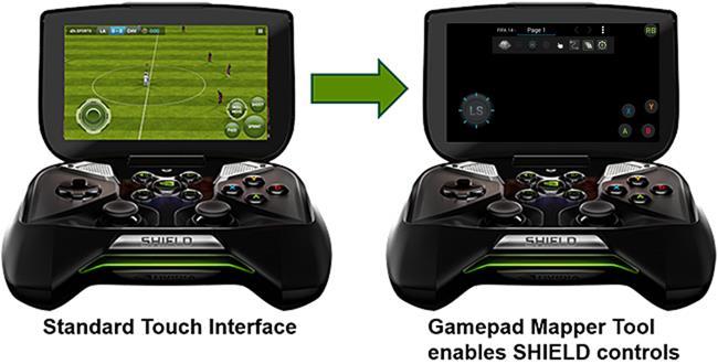NVIDIA SHIELD Gamepad Mapper #1