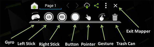 NVIDIA SHIELD Gamepad Mapper #4