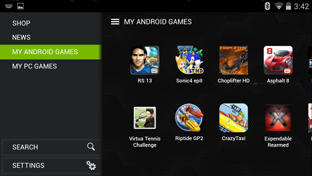 NVIDIA SHIELD TegraZone