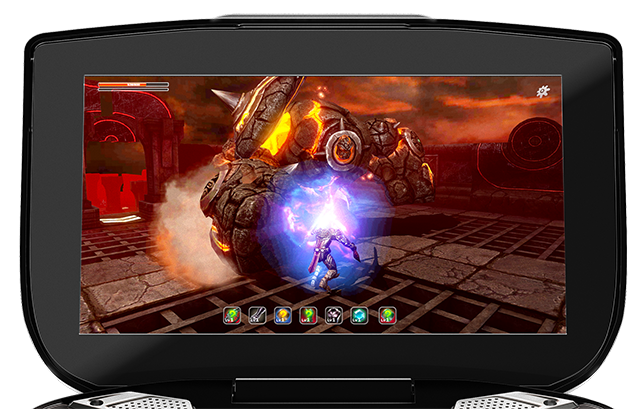 NVIDIA SHIELD HD retinal multi-touch display