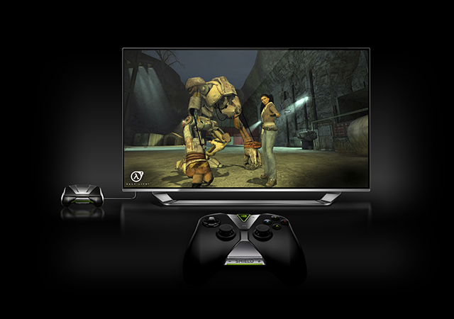 SHIELD Portable & SHIELD Wireless Controller, perfect for Half-Life 2