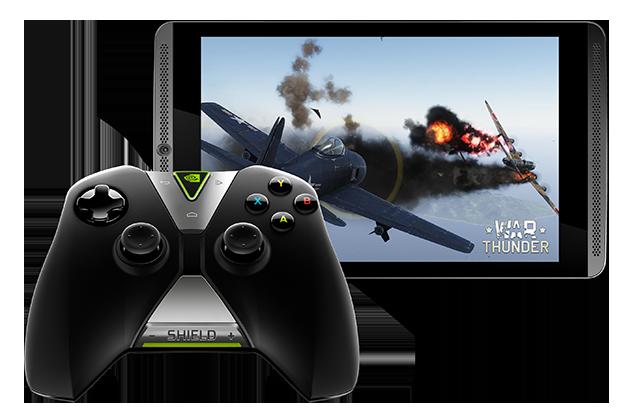SHIELD Tablet - War Thunder