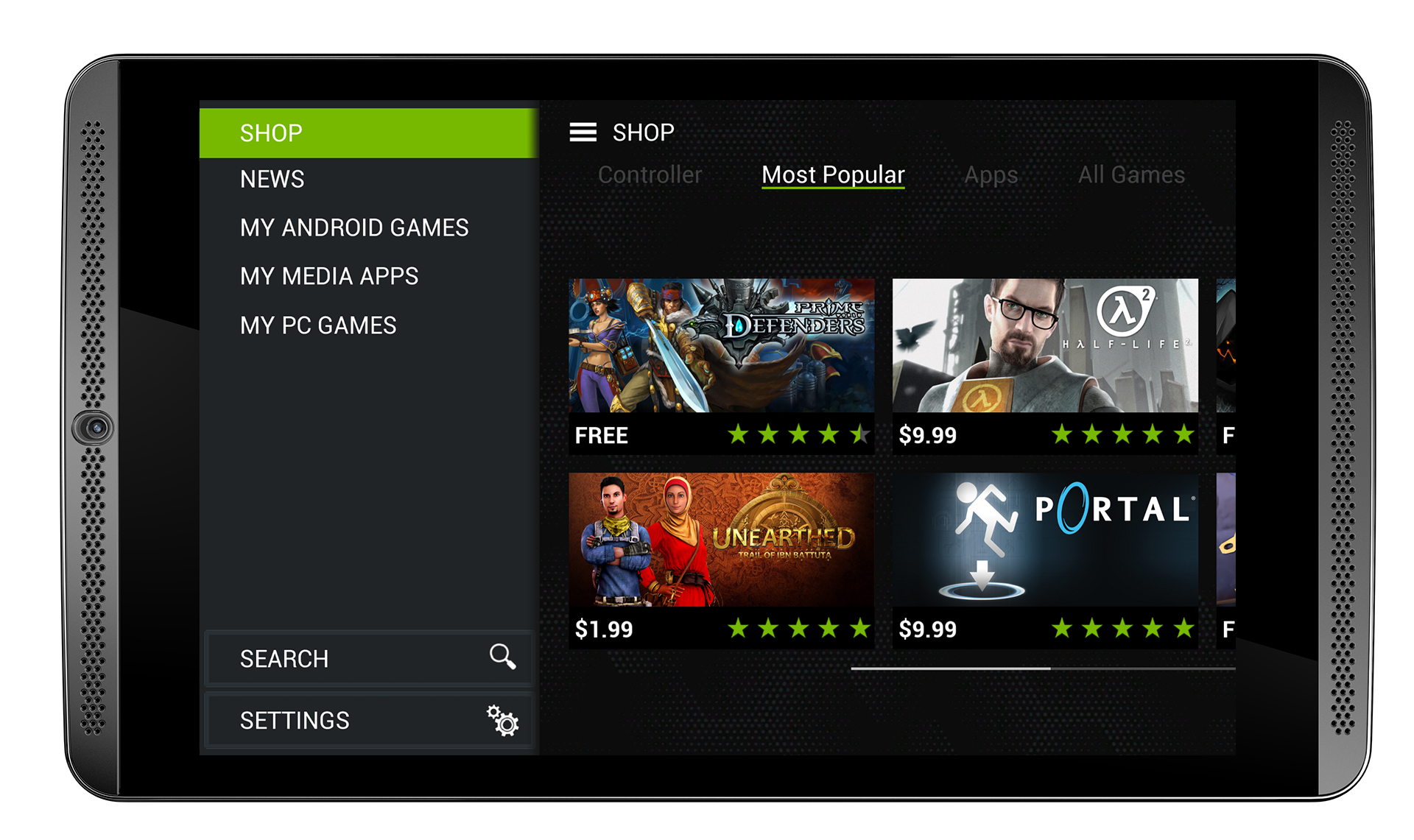 SHIELD Tablet, The Ultimate Tablet For Gamers