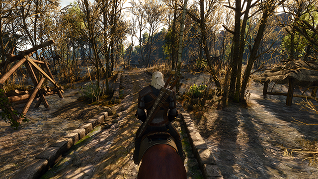 「巫師 3: 狂獵 (The Witcher 3: Wild Hunt)」- 陰影品質