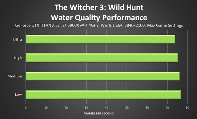 The Witcher 3: Wild Hunt - Water Quality Performance