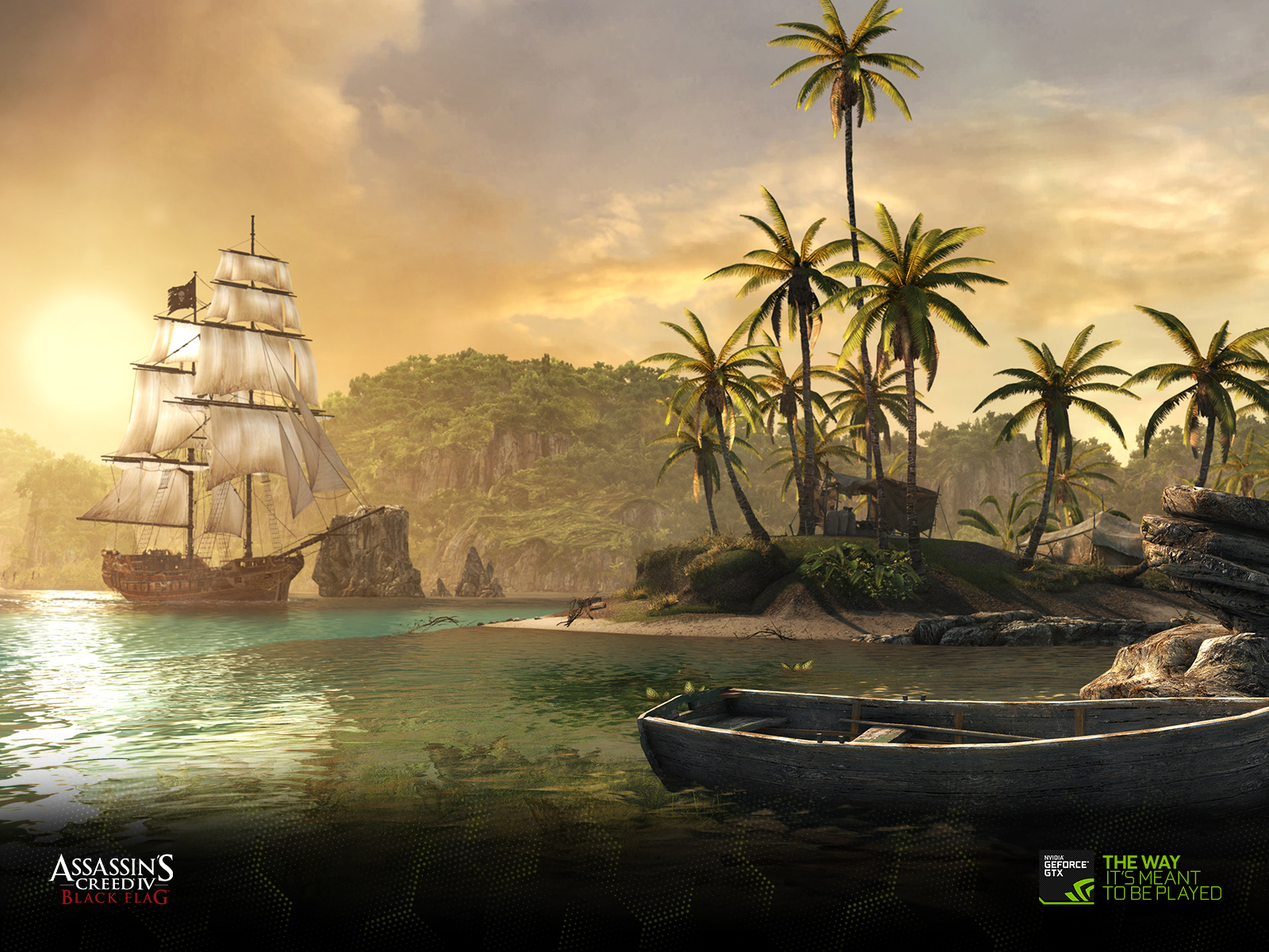 download the assassin's creed iv black flag wallpapers | geforce