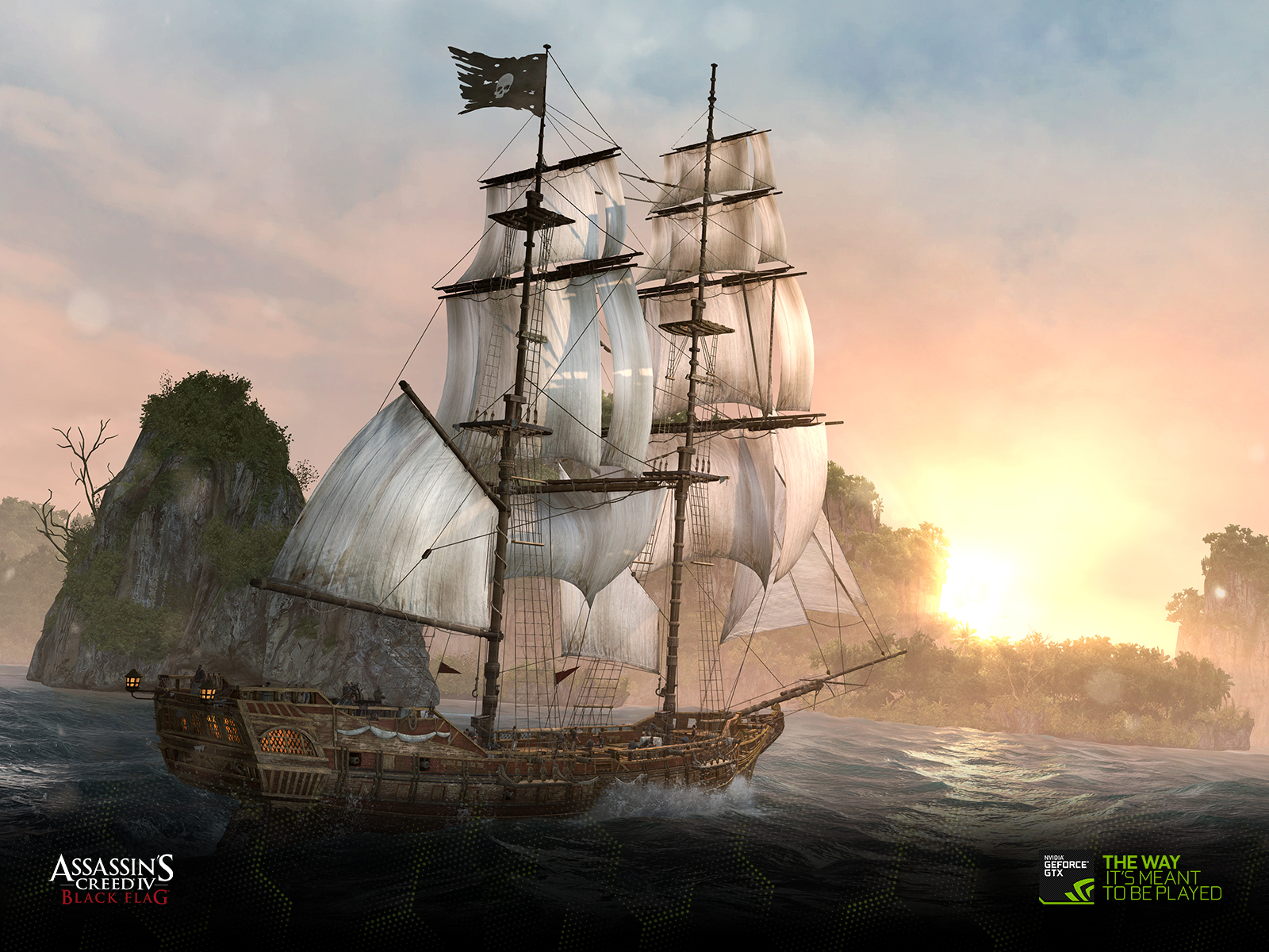 Download The Assassins Creed Iv Black Flag Wallpapers Geforce