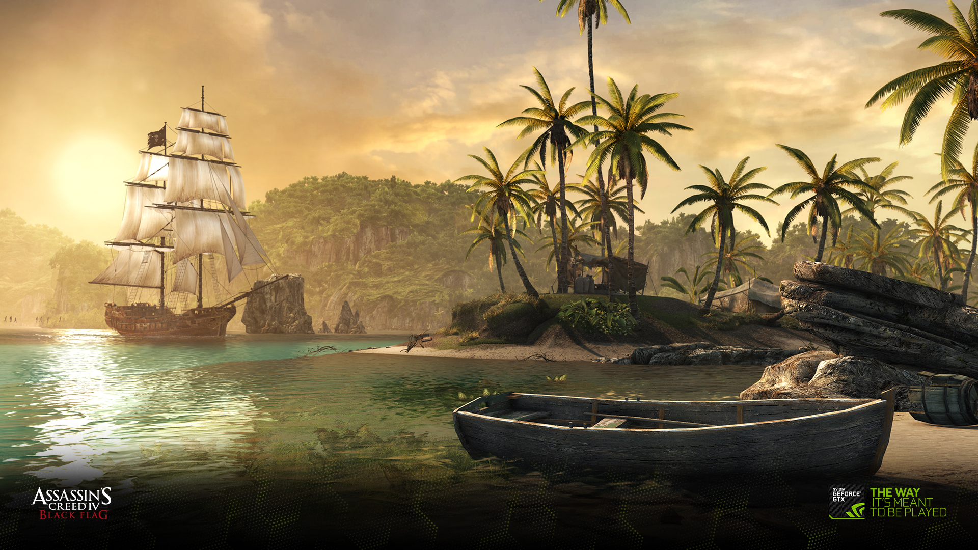 Download The Assassin S Creed Iv Black Flag Wallpapers Geforce