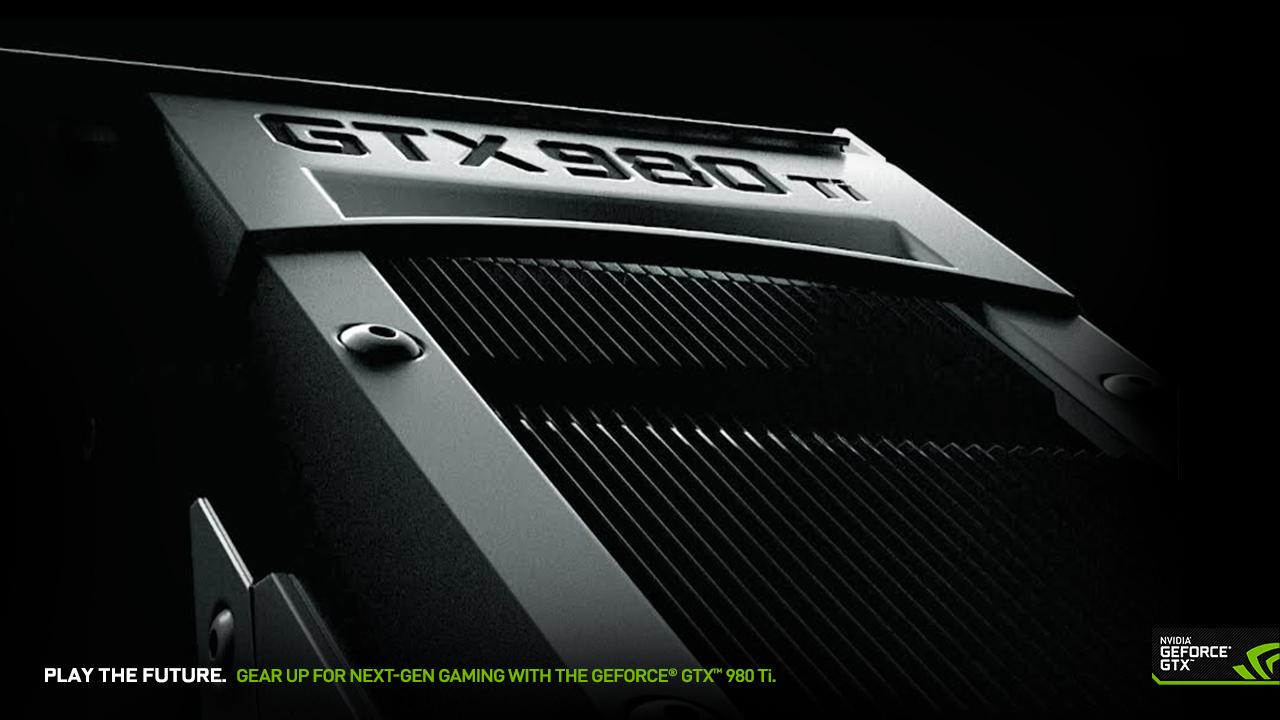 Download The GeForce GTX 980 Ti Wallpaper
