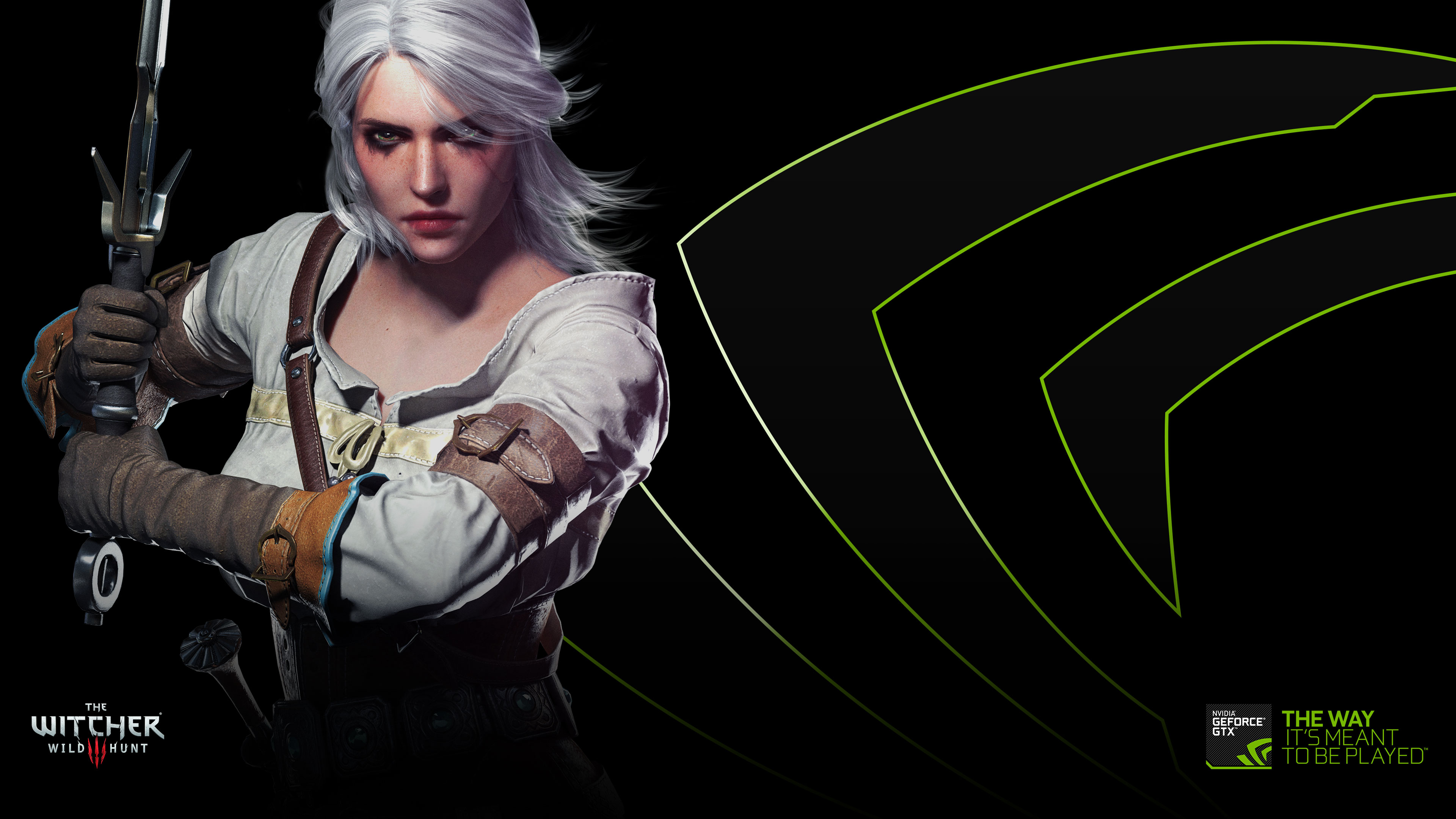 Ciri The Witcher Wild Hunt Wallpapers HD Desktop and Mobile