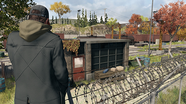 Watch Dogs - Temporal SMAA Anti-Aliasing